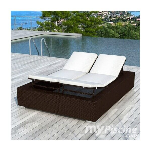 bain de soleil venise en r sine tress e mypiscine. Black Bedroom Furniture Sets. Home Design Ideas