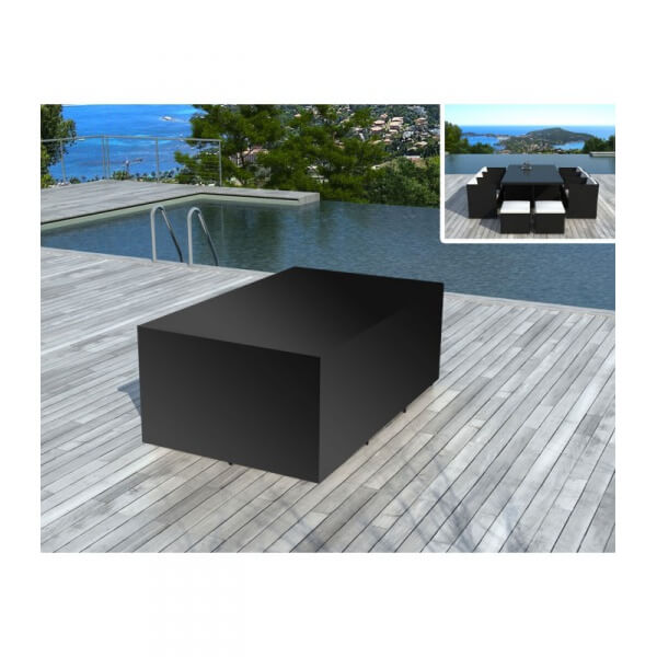 housse de protection pour salon de jardin sd8220 mypiscine. Black Bedroom Furniture Sets. Home Design Ideas
