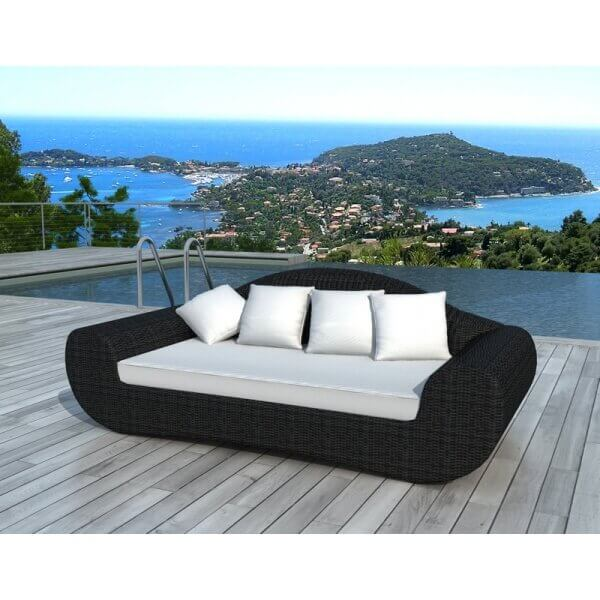 salon de jardin rio 3 places en r sine tress e mypiscine. Black Bedroom Furniture Sets. Home Design Ideas