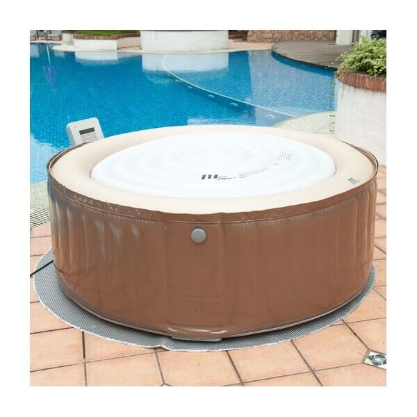 Spa gonflable mspa camaro lite sp b130l 4 places mypiscine - Spa gonflable interieur ...