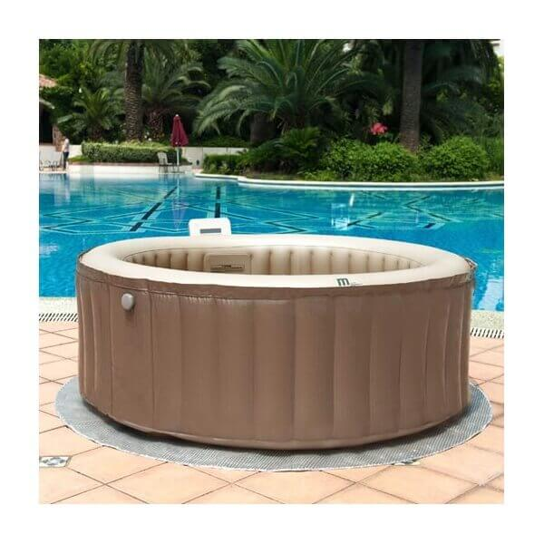 Spa gonflable mspa camaro lite sp b130l 4 places mypiscine for Spa gonflable exterieur