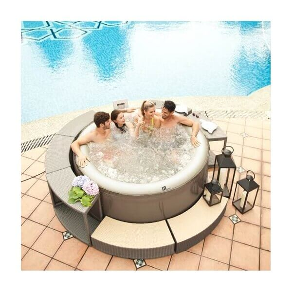 spa gonflable mspa camaro lite sp b130l 4 places mypiscine. Black Bedroom Furniture Sets. Home Design Ideas