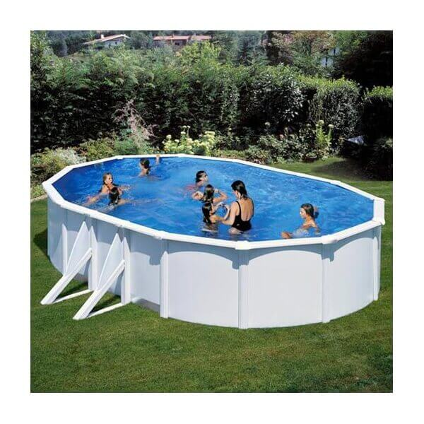 Piscine hors sol gre eco fidji 610 x 375 h120 cm kit610eco for Piscine eco