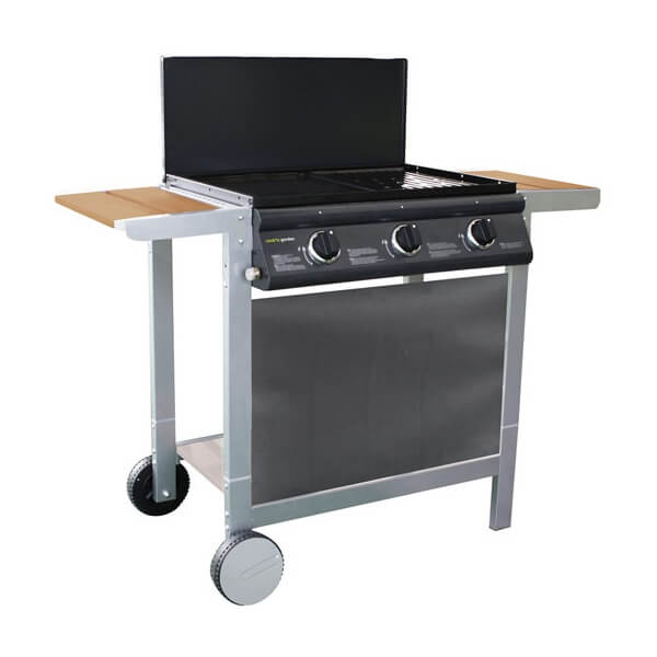 plancha gaz cookin garden puerta luna confort. Black Bedroom Furniture Sets. Home Design Ideas