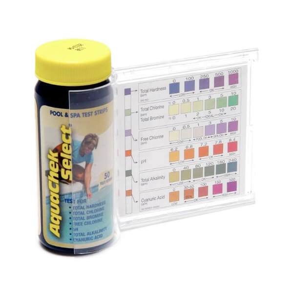 50 bandelettes d 39 analyse piscine aquacheck chlore ph
