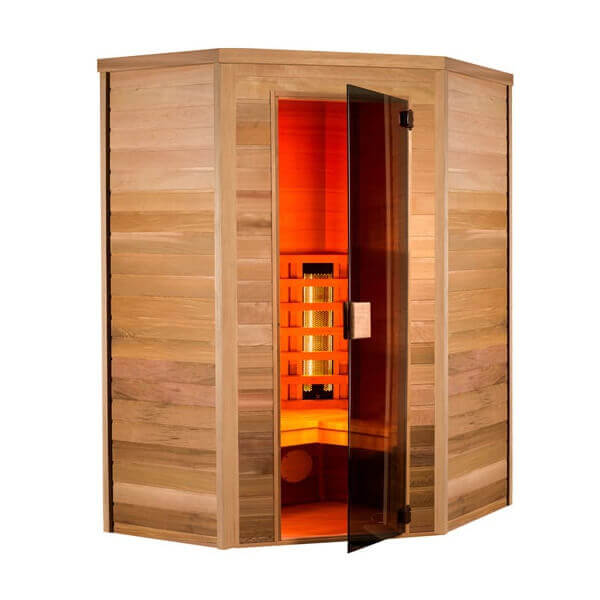 Sauna infrarouge infrawave 2 3 places - Sauna infrarouge 2 places ...