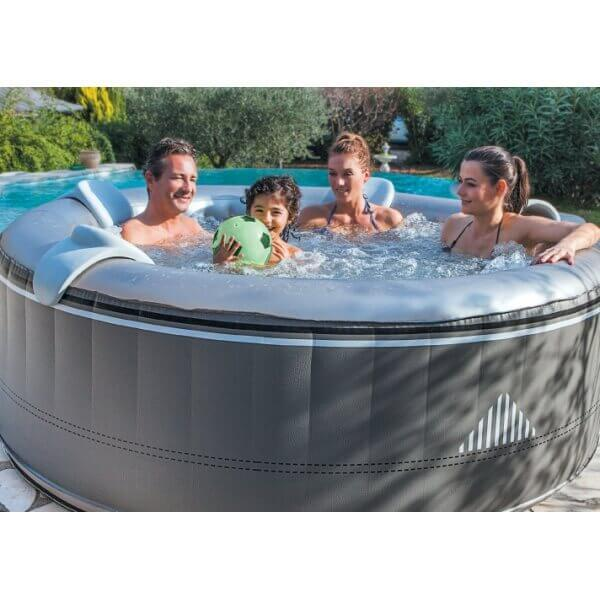 Spa gonflable netspa malibu 4 places mypiscine - Spa gonflable 4 places ...