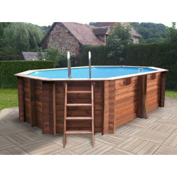 piscine hors sol sunbay en bois 4 46x3 36m mypiscine. Black Bedroom Furniture Sets. Home Design Ideas