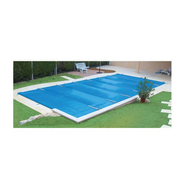 B che barres excel plus beige opaque pour piscine 11 x 5 m for Couverture piscine 4 saisons