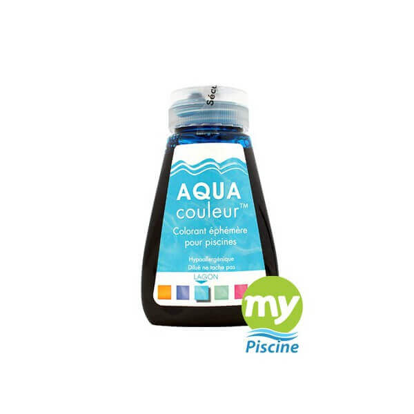 aquacouleur colorant pour piscine sans danger lagon jeux confort - Colorant Pour Piscine