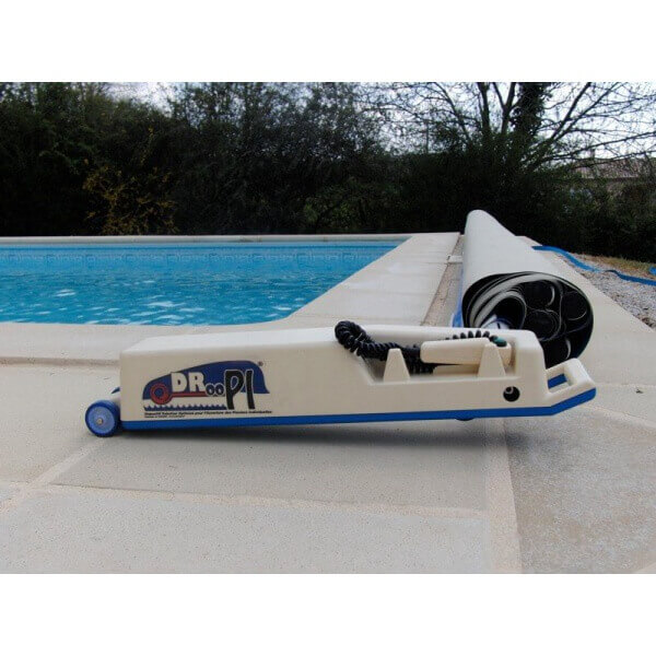 Enrouleur automatique bache a barre piscine for Bache automatique piscine