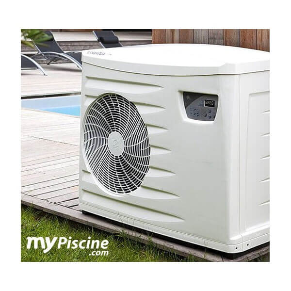 Pompe chaleur zodiac power first premium 13kw mypiscine for Pompe chaleur piscine zodiac