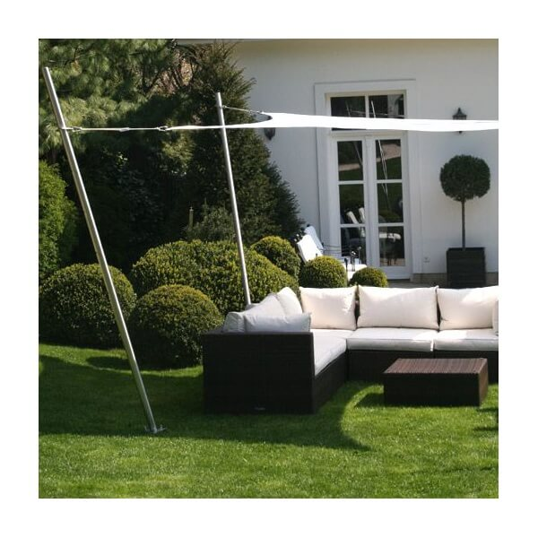 Voile d 39 ombrage 3 m carbone - Voile d ombrage impermeable ...