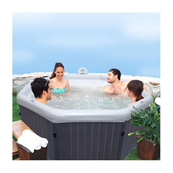 spa portable mspa tuscany b170 6 places mypiscine. Black Bedroom Furniture Sets. Home Design Ideas