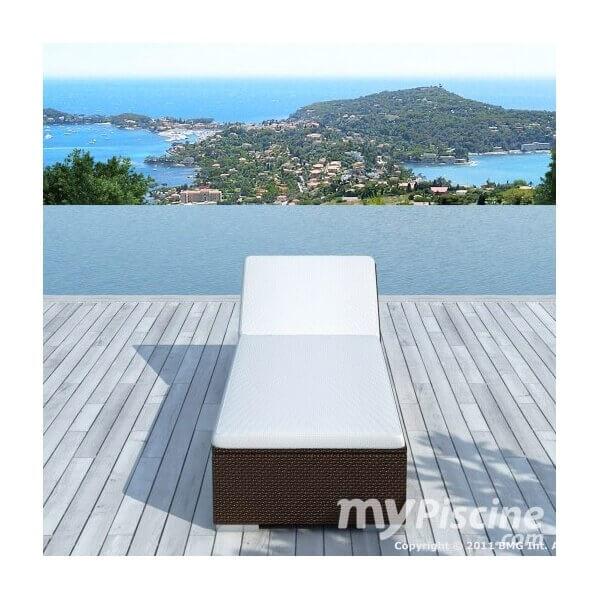 bain de soleil naples en r sine tress e mypiscine. Black Bedroom Furniture Sets. Home Design Ideas