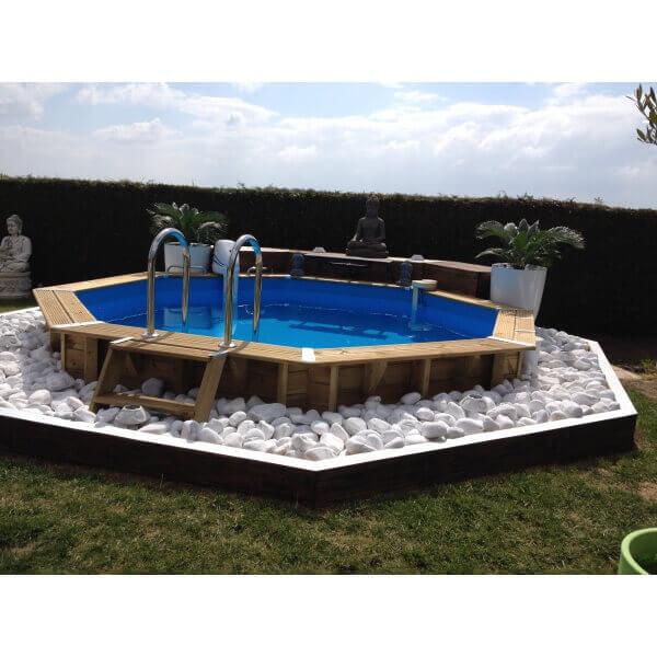 Piscine hors sol bois mypiscine blog for Petite piscine avec pompe