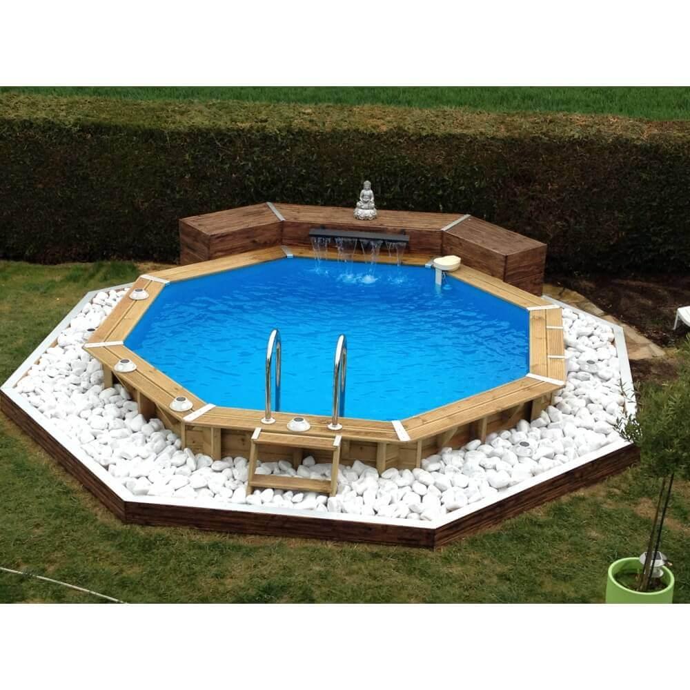 piscine bois ubbink oc a 430 cm x h 120 cm mypiscine. Black Bedroom Furniture Sets. Home Design Ideas
