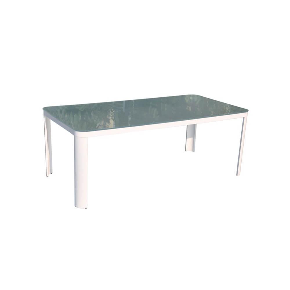 Table et chaises de jardin sydney mypiscine - Table de cuisine 8 places ...