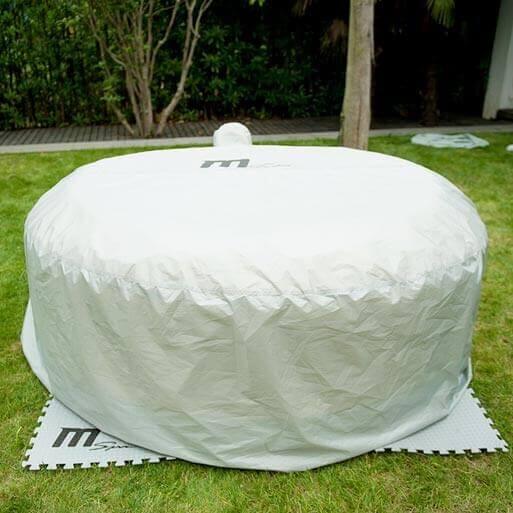 b che de protection pour spa gonflable 2 places mspa. Black Bedroom Furniture Sets. Home Design Ideas