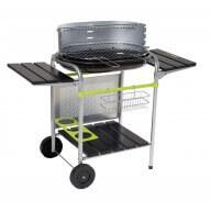 Barbecue charbon de bois Classy - Noir et vert