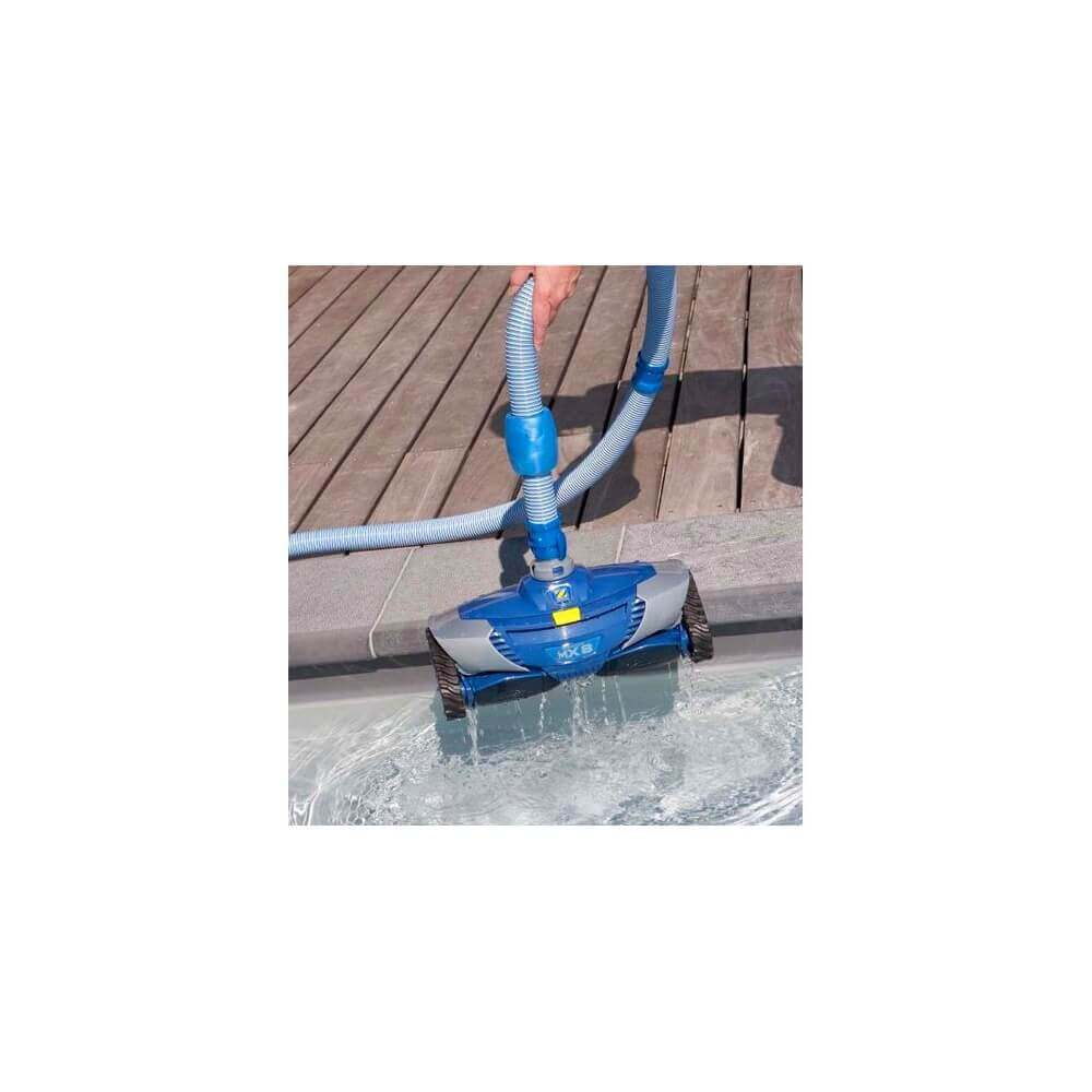 Robot de piscine zodiac mx8 mypiscine for Robot piscine baracuda