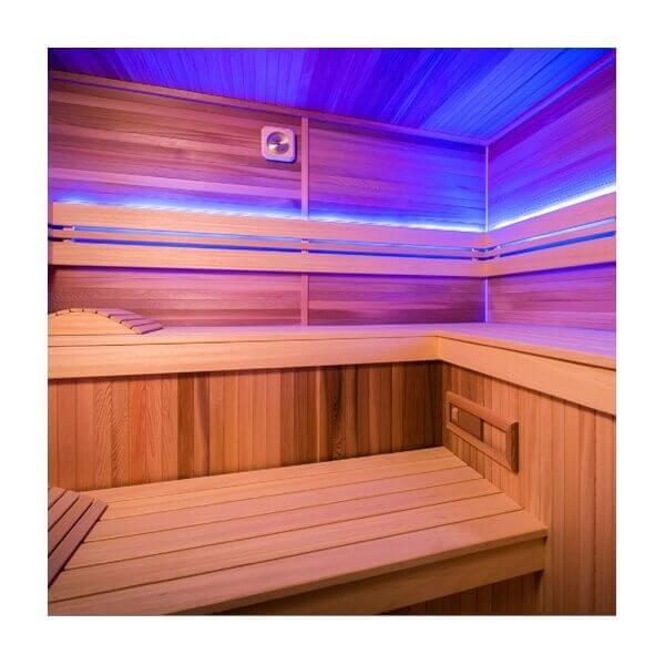 cabine de sauna holl 39 s eccolo 200 x 175 cm mypiscine. Black Bedroom Furniture Sets. Home Design Ideas