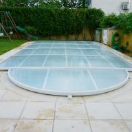 Abri Plat Amovible pour piscine