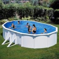 Piscine hors-sol Eco-Fidji 610 x 375 H120 cm