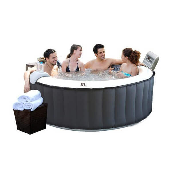 spa gonflable mspa silver cloud lite m011ls 4 places mypiscine. Black Bedroom Furniture Sets. Home Design Ideas