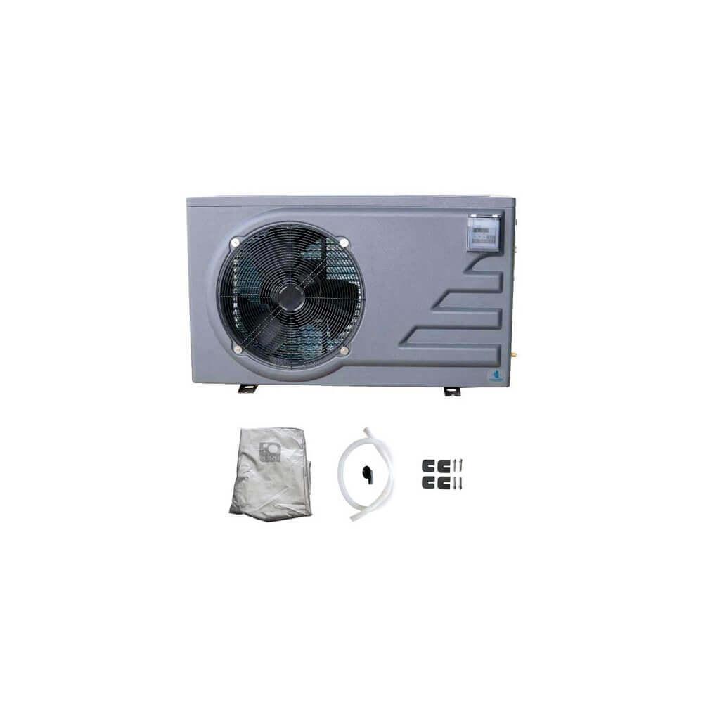 pompe chaleur pure pac 6 kw pour piscine jusqu 39 35 m3 mypiscine. Black Bedroom Furniture Sets. Home Design Ideas