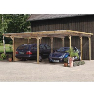 Carport Double Eco 1 Variante A - 563 x 490 cm