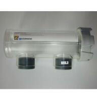 Vase transparent à vis pour cellule Zodaic Clearwater TS/CL