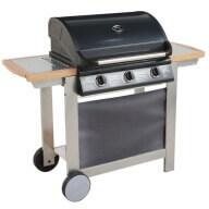 Barbecue gaz mixte à capot Fiesta 3 - 3 brûleurs