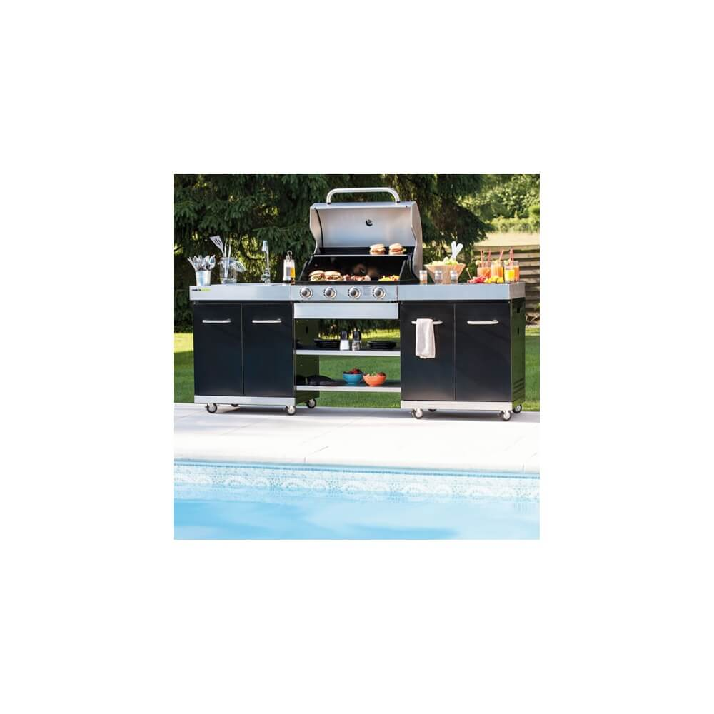 Cuisine d 39 ext rieure summer mypiscine for Cuisine exterieure piscine