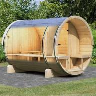 Sauna vapeur extérieur - Baril 2