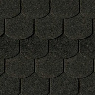 Shingels Queue de Castor noir - Paquet de 3m²
