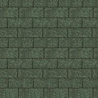 Shingels Rectangulaire vert foncé - Paquet de 3m²