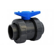 Vanne PVC 50 mm à coller - PN16