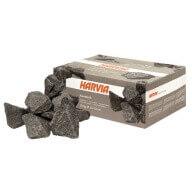 Pierres de lave pour sauna - 20 Kg - Ø 10-15 cm