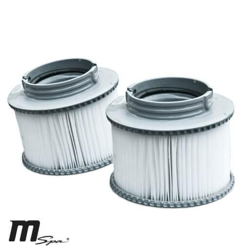 Cartouche de filtration x2 pour spa gonflable mspa - Cartouche filtre piscine magiline ...