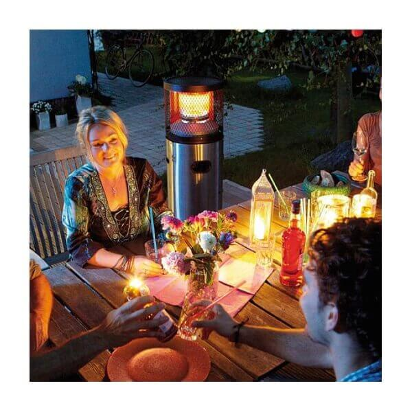 Chauffage ext rieur pour terrasse cosy polo mypiscine for Chauffage exterieur gaz