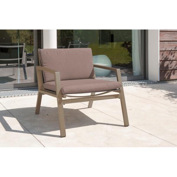 salon de jardin london en aluminium mypiscine. Black Bedroom Furniture Sets. Home Design Ideas