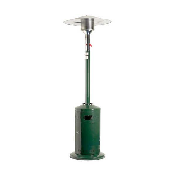 Chauffage de terrasse favex cosy profi vert ecoline mypiscine - Parasol chauffant a gaz ...