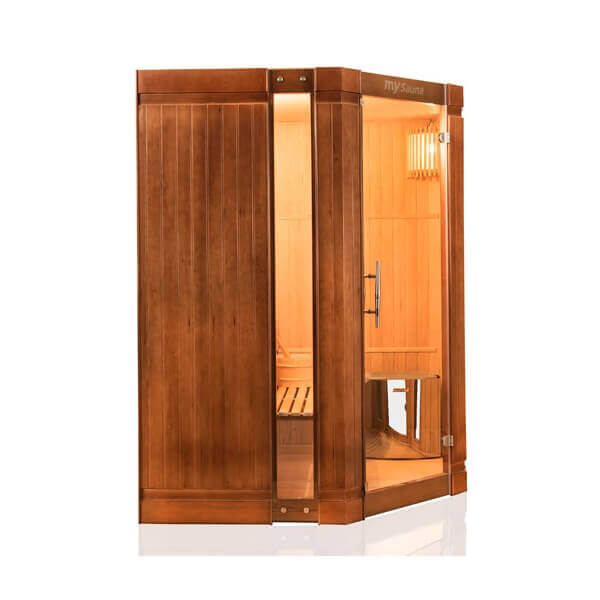 cabine de sauna vapeur 3 4 places mysauna mypiscine. Black Bedroom Furniture Sets. Home Design Ideas