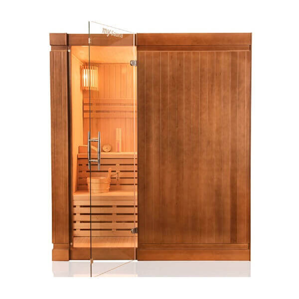 cabine de sauna vapeur 4 places opal. Black Bedroom Furniture Sets. Home Design Ideas