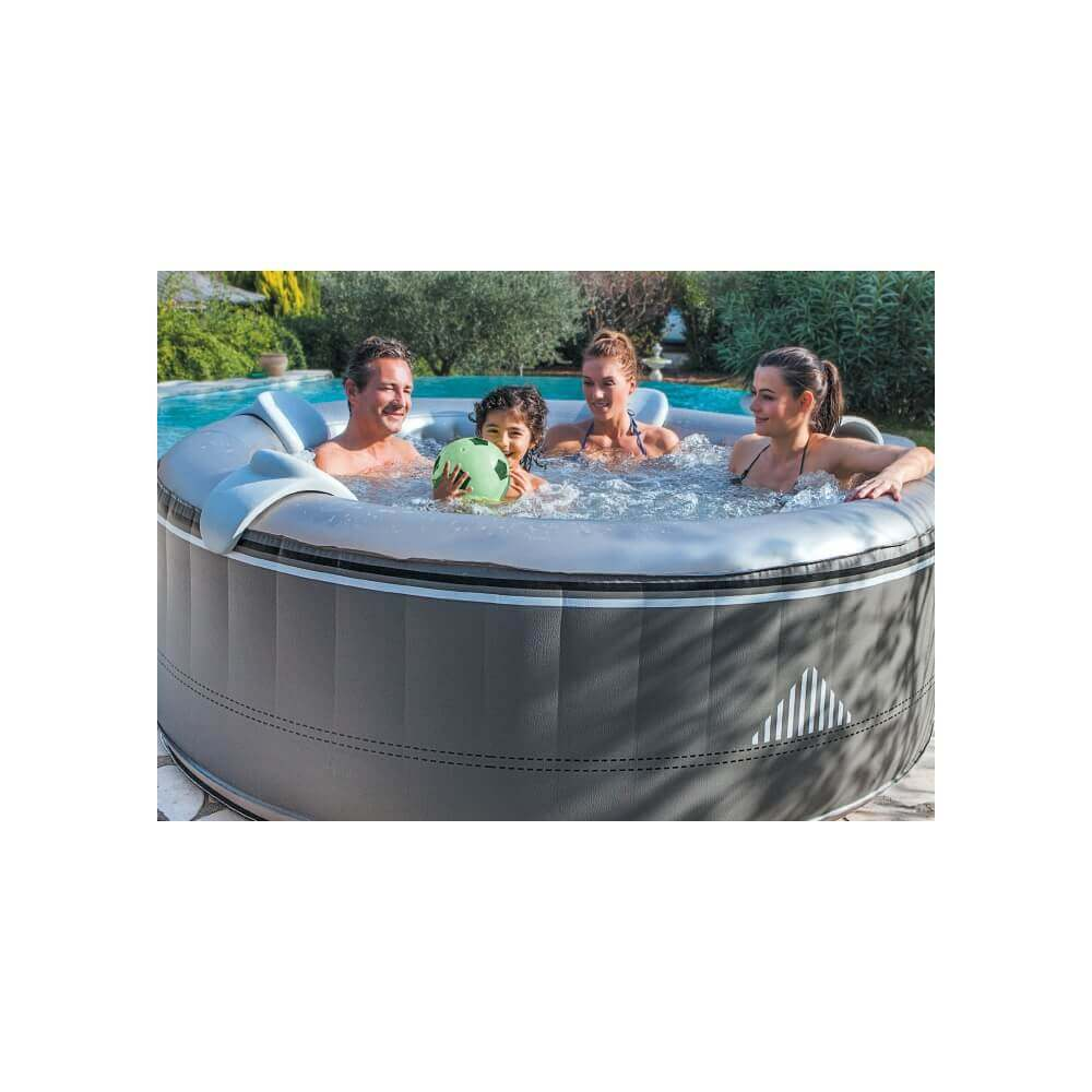 Spa gonflable netspa malibu 4 places mypiscine for Spa gonflable exterieur