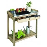 Table de préparation avec tiroir