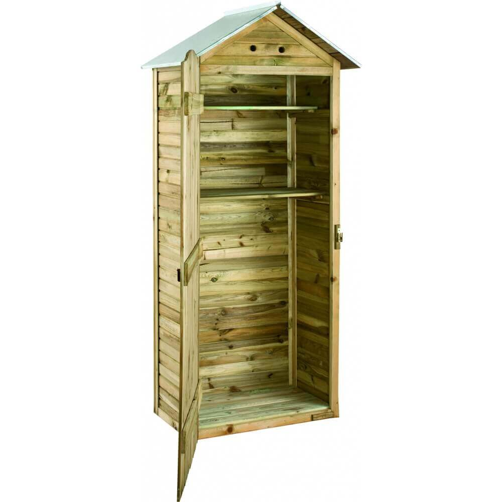 armoire de rangement mira pour jardin mypiscine. Black Bedroom Furniture Sets. Home Design Ideas