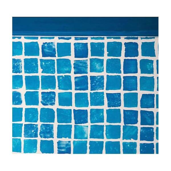 liner mosaiques fpr457 pour piscine hors sol gr ronde diam 460 x cm. Black Bedroom Furniture Sets. Home Design Ideas