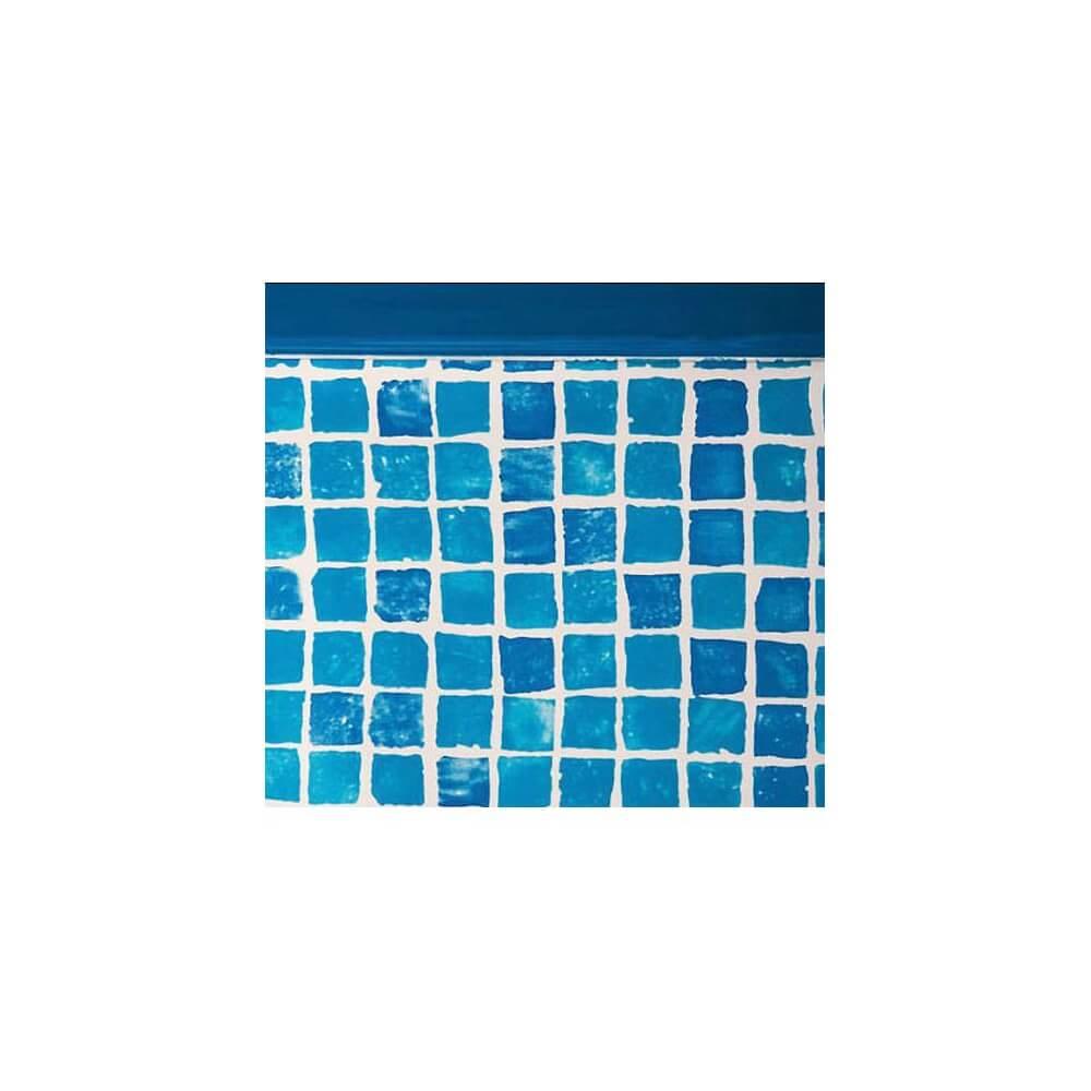 Liner mosaiques fpr457 pour piscine hors sol gr ronde for Liner piscine diametre 5 50